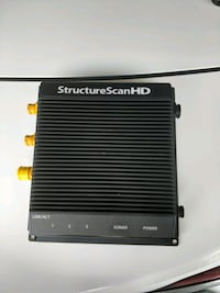 Lowrance structure scan HD& 2 Ethernet cables