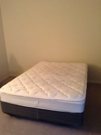 Full size mattress/ box spring /bed frame
