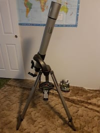 black and gray telescope with tripod Kelowna, V1X 5C5