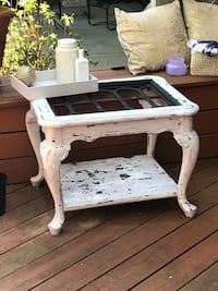 Newly refurbished cottage style coffee table Reston, 20191