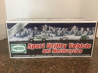Hess Brand New 40th Anniversary Sport Utility Vehicle and Motorcycles Manassas, 20112