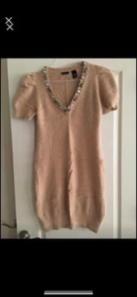 New angora sweater dress, never worn size large. Beautiful stoned neckline Woodbridge, 22191