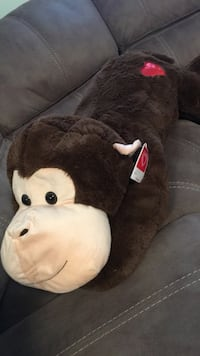 brown monkey plush toy Houston, 77063
