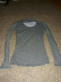 black and gray striped long-sleeved shirt Martinsburg, 25404