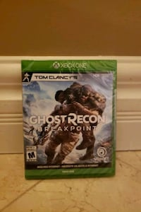 Ghost Recon Breakpoint - XBOX ONE Mississauga, L5C