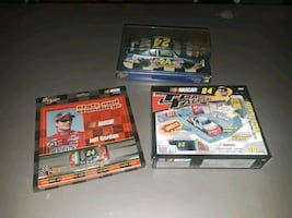 Jeff Gordon stars and standings, die cast, and track talkers $20
