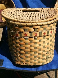 Handwoven Basket Washington
