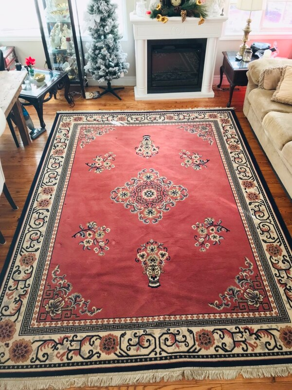 Rug Oriental Ruby Belgium made 100