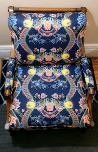 Modern Foral - Accent Chair