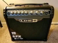 black Line 6 guitar amplifier Bowie, 20715