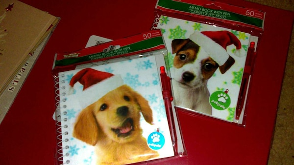 misc. stocking stuffers & assorted greeting cards