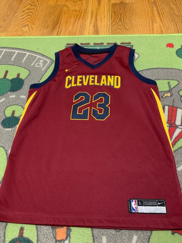 a7a484fd0 LeBron James jersey Youth Large Cleveland Cavaliers Pickup and Cash only