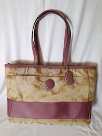 Coach Pink Baby Tote / Diaper Bag Chicago, 60616