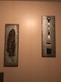 two brown wooden wall decors BARRIE