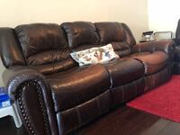 Power sofa and reclining glider/ love seat New York, 11213