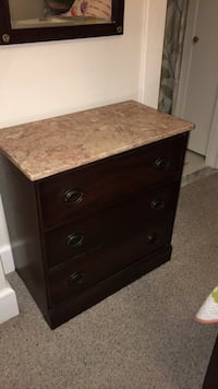 Marble top Mahogany dressers. Catonsville, 21228