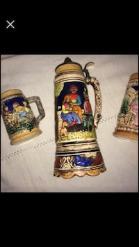 Vintage mugs and stein