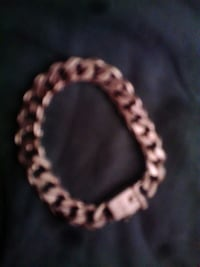 gold-colored chain bracelet St Helens, WA9 5UY