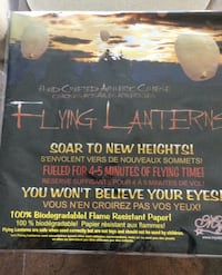Flying Lanterns -Hand Crafted Authentic  Vaughan, L4H