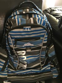 Black and blue stripe roots backpack & lunch pail Niagara Falls, L2J 2R6
