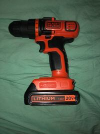 black & decker cordless hand drill with bag and charger Buffalo, 14220