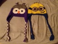 Hand knitted hats  1488 mi