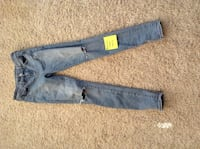 blue denim straight-cut jeans Ashburn, 20147