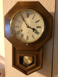 Antique Winding wall clock  44 km