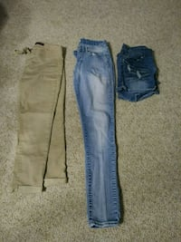 Size 7 pant and shorts