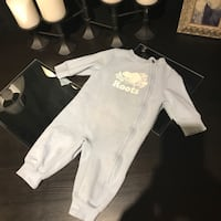 ROOTS WARM ROMPER 3-6m in Excellent Condition Light blue London, N6A 1J1