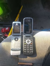two black and grey flip phones Albuquerque, 87109