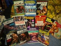 Body building/weight lifting books
