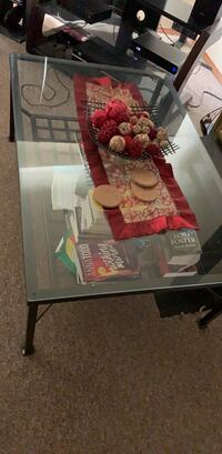 Glass coffee table  Calgary, T2A 5L2