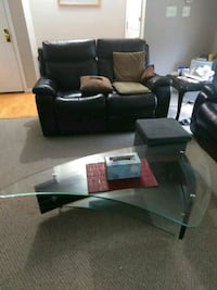 Nice glass coffee table  Centreville