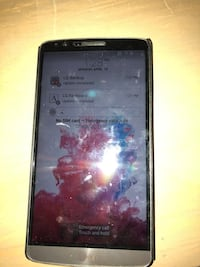 Black LG G3  smartphone, touch screen not working properly. Toronto, M5N 1L8