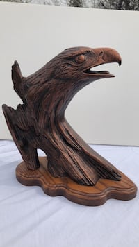 brown wooden eagle wall decor Great Falls, 59401
