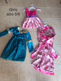 costumes sizes 3/4-7/8 $7 each  Jackson, 08527