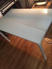 rectangular white wooden coffee table Edmonton, T5E 2M6