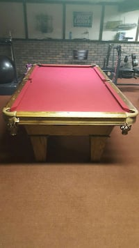 Used Ft Brunswick Buckingham Pool Table For Sale In Cottage Grove - American heritage madison pool table