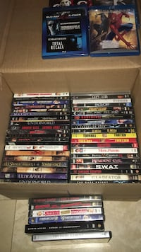 DVD collection very popular titles.  Well taken care of.  Some blue ray as well. I will sell individuals if wanted   Toronto, M6E 1G2