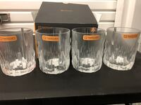 Nachtmann Shu Fa Whisky Tumblers, Set of 4 (I have 3 boxes = 12 cups) Old Bridge, 08857
