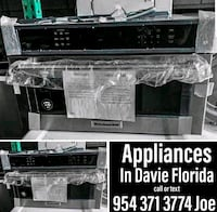 """Kitchen aid 30"""" microwave built in walloven  Fort Lauderdale"""