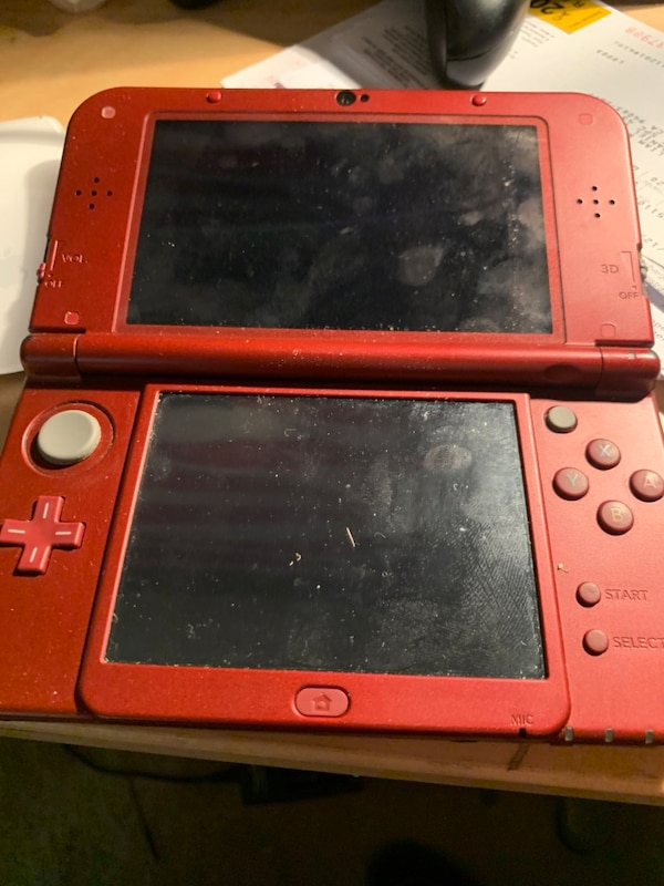 """""""New"""" Nintendo 3ds xl with games"""