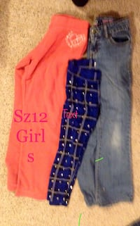women's three assorted pants