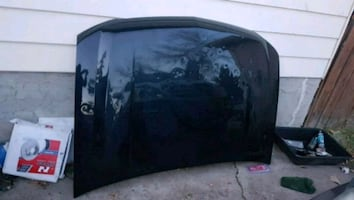Chevy,GMC Black Hood 2007-2011