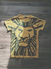 Sz S VTG Broadway Lion King Shirt Calgary, T3K