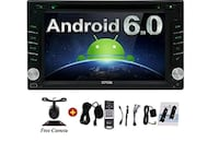 Android 6.0 Double Din Car DVD Player
