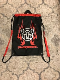 Kids Transformers String Bag  Vaughan, L4L 5R6