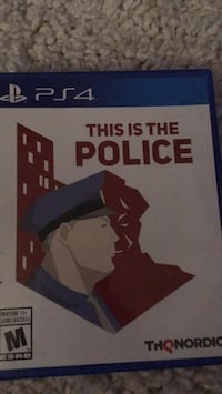 THIS IS THE POLICE PS4 play station game Mississauga, L5E 2G8
