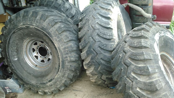 Used Mud Tires For Sale >> Used 44 Tall Ground Hawg Mud Tires For Sale In Mansfield Letgo